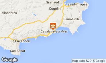 Mappa Cavalaire-sur-Mer Appartamento 76631