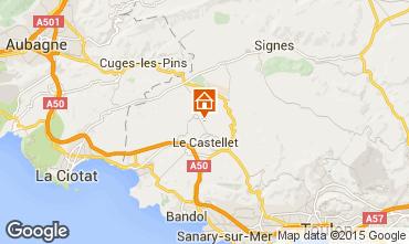 Mappa Le Castellet Villa  79364