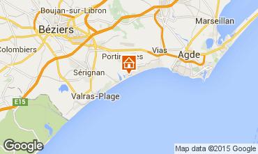 Mappa Portiragnes Casa 96400