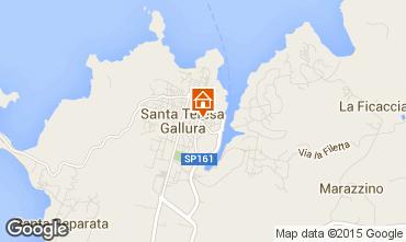 Mappa Santa Teresa di Gallura Appartamento 98963