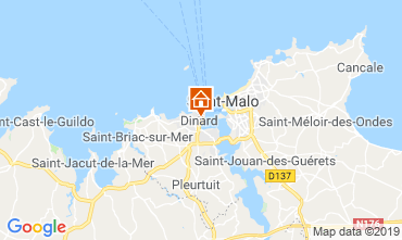 Mappa Dinard Appartamento 119858