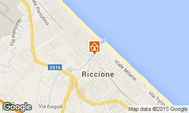 Mappa Riccione Appartamento 17943