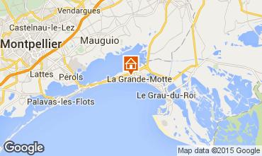 Mappa La Grande Motte Monolocale 31444