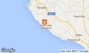 Mappa Ugento - Torre San Giovanni Appartamento 70848