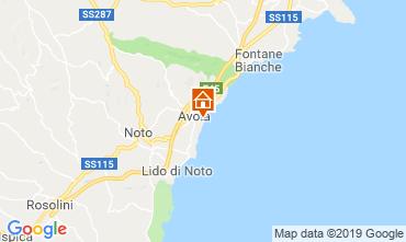 Mappa Avola Alloggio insolito 109962