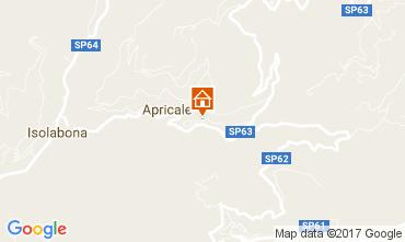 Mappa Apricale Monolocale 108830