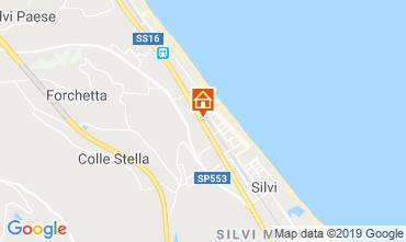 Mappa Silvi Marina Monolocale 118759