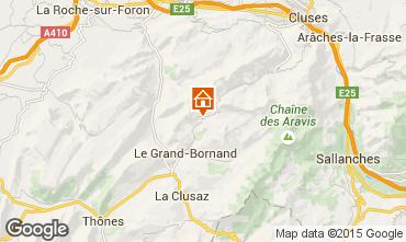 Mappa Le Grand Bornand Chalet 94809