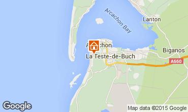 Mappa Arcachon Casa 83818