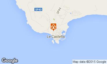 Mappa Le Castella Appartamento 24518