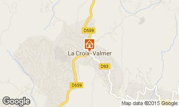 Mappa La Croix Valmer Villa  62547