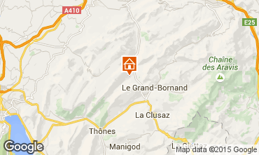 Mappa La Clusaz Chalet 72056