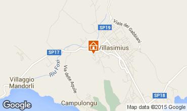 Mappa Villasimius Villa  85781