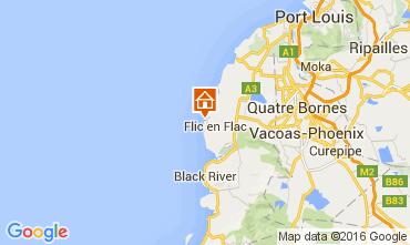 Mappa Flic-en-Flac Appartamento 36851