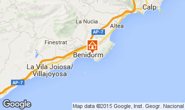 Mappa Benidorm Appartamento 60317