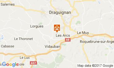 Mappa Les Arcs-sur-Argens  Agriturismo 65068