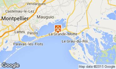 Mappa La Grande Motte Monolocale 70311