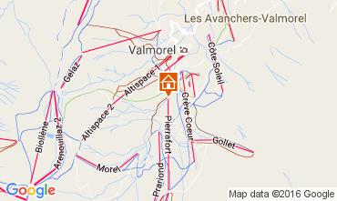 Mappa Valmorel Appartamento 37079