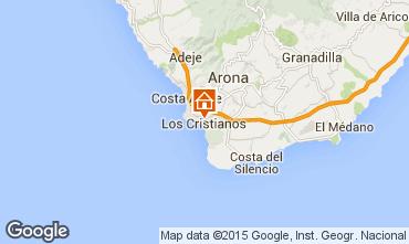 Mappa Los Cristianos Appartamento 88879