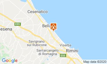 Mappa Bellaria Igea Marina Appartamento 84582