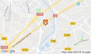 Mappa Montpellier Villa  116627