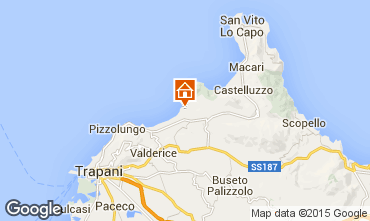 Mappa San Vito lo Capo Appartamento 87673