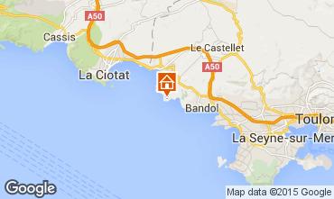 Mappa Bandol Villa  8651