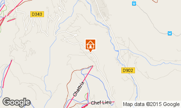 Mappa Saint-Gervais-les-Bains Chalet 2571