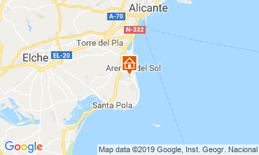 Mappa Alicante Appartamento 112598