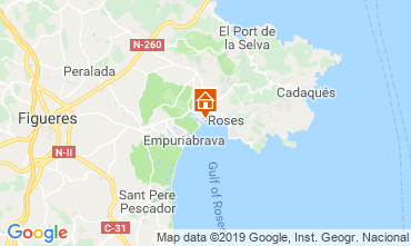 Mappa Rosas Appartamento 119088