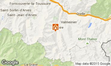 Mappa Valloire Appartamento 3371