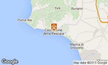 Mappa Castiglione della Pescaia Appartamento 79154