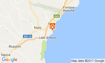 Mappa Avola Villa  110884