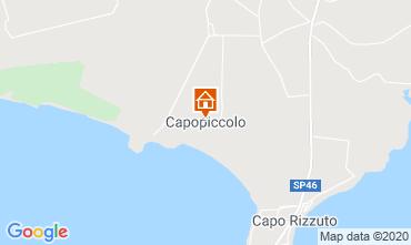 Mappa Isola di Capo Rizzuto Appartamento 72903