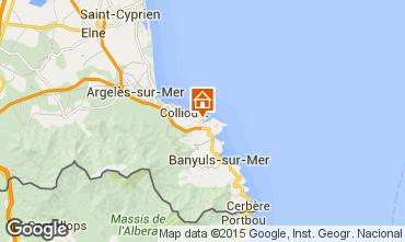 Mappa Port Vendres Appartamento 41483