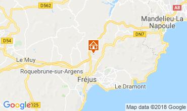 Mappa Fréjus Villa  109566