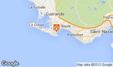 Mappa Le Pouliguen Casa 7217