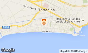 Mappa Terracina Villa  94577