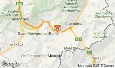 Mappa Les Houches Appartamento 101211