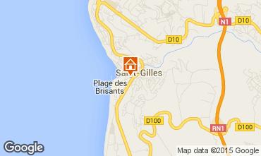 Mappa Saint Gilles Monolocale 97488