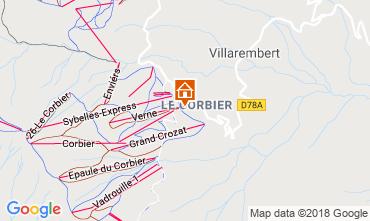 Mappa Le Corbier Monolocale 1015