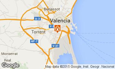 Mappa Valencia Appartamento 8181