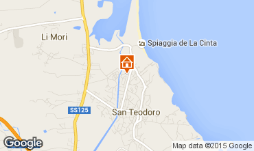 Mappa San Teodoro Villa  95262
