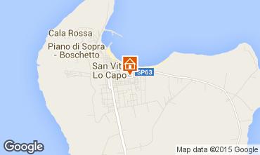 Mappa San Vito lo Capo Appartamento 79074