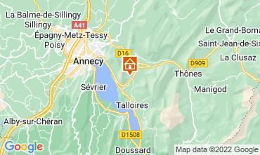 Mappa Annecy Appartamento 67836