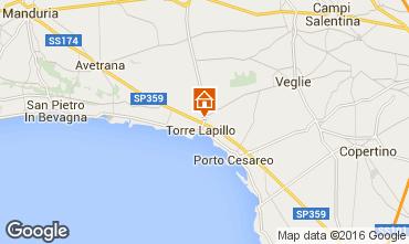 Mappa Torre Lapillo Casa 102958