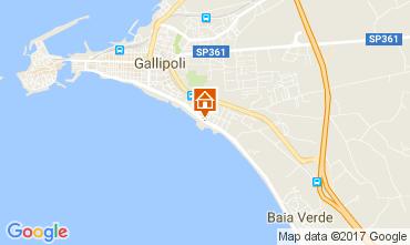 Mappa Gallipoli Appartamento 111071