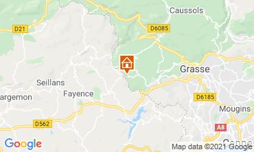 Mappa Grasse Villa  111723