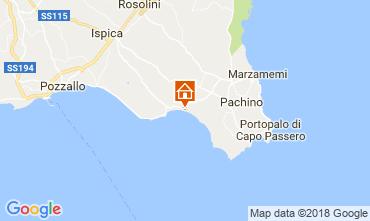 Mappa Pachino Villa  97295