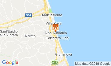 Mappa Alba Adriatica Appartamento 118596